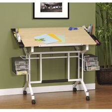 Pro Station Wood Drafting Table