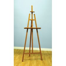 "Museum 73.75"" Easel in Natural"