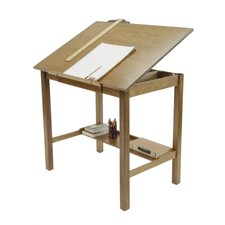 "Americana II Solid Hardwood Drafting Table 30"" x 42"""