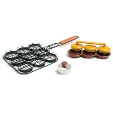 <strong>Charcoal Companion</strong> Deluxe Mini Burger Set