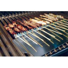 <strong>Charcoal Companion</strong> Steven Raichlen Stainless Grill Shield for Skewers