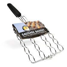 <strong>Charcoal Companion</strong> Steven Raichlen Stainless Adjustable Sausage Basket