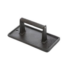 Cast Iron Rectangular Grill Press