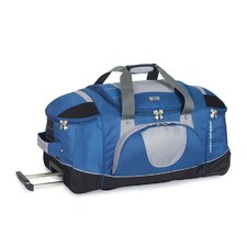"""A.T Gear Ultimate Access 26"""" 2-Wheeled Travel Duffel with Backpack Straps"""