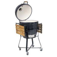 Kamado Round Grill and Smoker