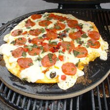 <strong>Primo Grills</strong> Pizza Baking Stone for Extra Large Oval Grill or Kamado Grill