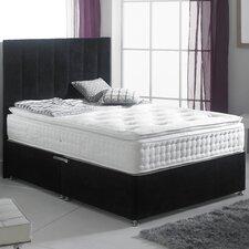 Chelsea Pillowtop Divan Set with Non Floor Standing Headboard