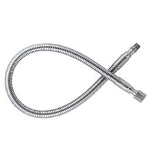 "Flexible Stainless Steel Hose With 3000 PSI Maximum Rated Inlet Pressure And 1/4"" Female NPT X 1/4"" Male NPT End Connections"