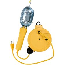 <strong>Bayco Products, Inc</strong> Metal Shield Utility Light on 20' Retractable Reel