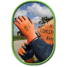 <strong>Best Manufacturing Co</strong> 9 Hi-Vis Sponge Nitrile Zorb-IT® Coated Work Gloves