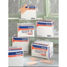 "X 3"" Coverlet® Fabric Adhesive Bandage Patch (50 Per Box)"