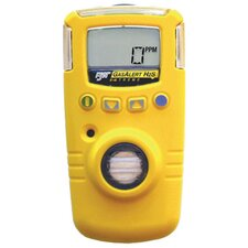 Extreme Extended Range Portable Gas Monitor For Hydrogen Sulfide With Yellow Housing