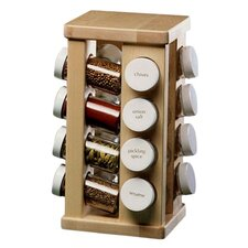 Sugar Maple Carousel Spice Rack
