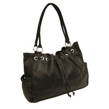 Fashion Avenue Drawstring Tote