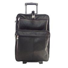 "Blushing Red Collection 22"" Wheeled Traveler Suitcase"