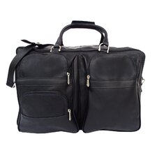"Traveler 19.5"" Leather Complete Carry-All Travel Duffel"