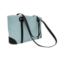 Pastel Leather Shopping Tote