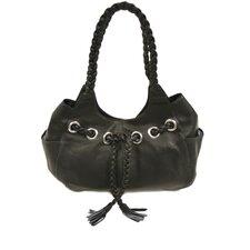 Ladies Braided Hobo Bag