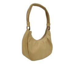 Wrapped Handle Mini Hobo Bag