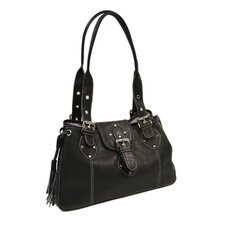 Ladies Studded Satchel