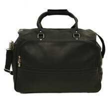 "Traveler 18.5"" Classic Leather Carry-On Duffel"