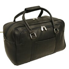 "<strong>Piel Leather</strong> Traveler 15.5"" Mini Leather Carry-On Duffel"
