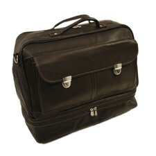 Traveler False Bottom Carry-On in Chocolate