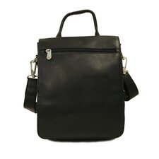 Fashion Avenue Double Flap-Over Messenger Bag
