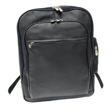 <strong>Piel Leather</strong> Entrepeneur Front-Pocket Computer Backpack