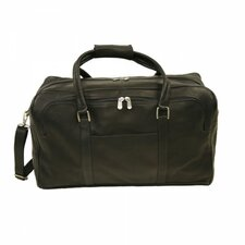 "<strong>Piel Leather</strong> Traveler 20"" Half-Moon Leather Travel Duffel"