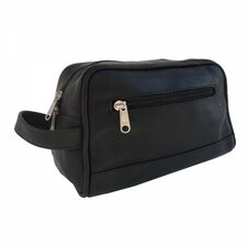 <strong>Piel Leather</strong> Top-Zip Toiletry Kit