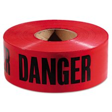 "3"" X 1000 Ft Danger Barricade Tape"