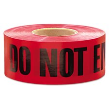 "3"" X 1000 Ft Do Not Enter Barricade Tape"
