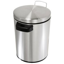 1.5-Gal. Stainless Steel Automatic Touchless Trash Can