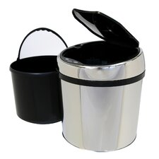 <strong>iTouchless</strong> 1.5-Gal. Stainless Steel Automatic Touchless Trash Can