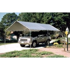King 10.5 Ft. W x 20 Ft. D Canopy