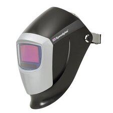 Black 9000 Welding Helmet With Dual Shade 10 And 11 Auto-Darkening Lens