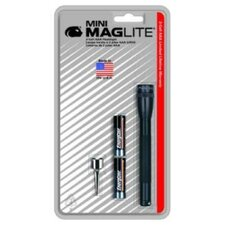 Mini Maglite AAA Flashlight in Red