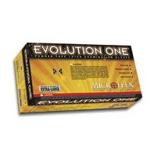 "Natural 10"" Evolution One® 5 40180 mil Latex Ambidextrous Non-Sterile Powder-Free Disposable Gloves With Textured Finish, Beaded Cuffs And Polymer Inner Coating (100 Each Per Box)"