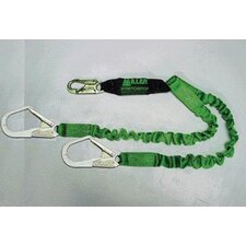 Two-Legged Stretchable Stretchstop Lanyard With 3 Locking Snap Hooks & An Integral Sofstop Shock Absorber