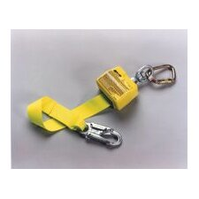 Retractable Polyester Web Lanyard With Carabiner