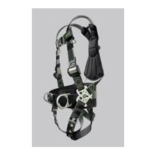 Revolution Welder's Harness With DualTech Webbing, Removable Belt, Side D-Rings And Pad And Tongue Buckle Legs