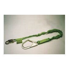 Manyard® Ii Green Shock Absorbing Lanyard With 1 Locking Snap Hook & 1 Rebar Hook