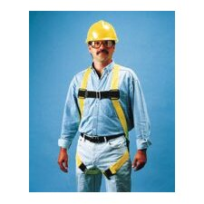 Size VersaLite Non-Stretch Harness With Matting Leg Straps, Back D-Ring, Lanyard Ring, Belt Loops And Fall Indicator