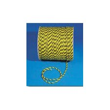 <strong>Mutual Industries</strong> X 600' Yellow 3 Strand Twisted Polypropylene Poly-Safe Rope