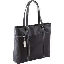 "15.4"" Ladies Deluxe Tote in Black"
