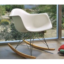 <strong>Herman Miller ®</strong> Eames RAR Molded Plastic Rocking Chair