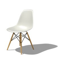 <strong>Herman Miller ®</strong> Eames DSW - Molded Plastic Side Chair with Dowel-Leg Base