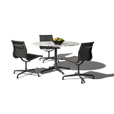 "Eames 4 Piece Dining Set with 36"" Table"