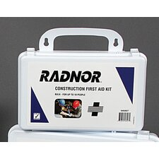 <strong>Radnor</strong> Person Bulk Construction First Aid Kit In Plastic Case
